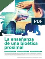 Articulo de Biarticulo bioetica