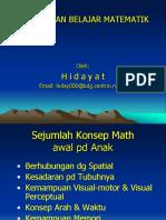 Abk Kesulitan Belajar Matematika