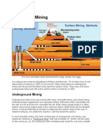 Methods of Mining