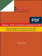 Relatorio Perfil ABPN-10 Anos End0