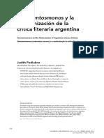 """Judith Podlubne, """"Setecientosmonos y la modernización de la crítica literaria argentina"""""""