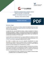 2016 II Simposio Internacional Cátedra Unesco Subsede Universidad Nacional de Cuyo
