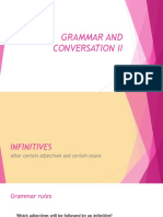 Grammar and Conversation II
