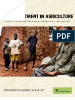 (Mis)Investment in Agriculture