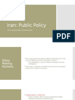 Lesson 6 Iran- Public Policy and Current Issues-home