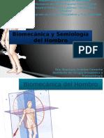 Semiologia y Biomecanica Del Hombro