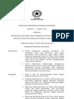 Peraturan Pemerintah No.4 Tahun 2010