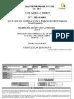 Formato de Planeación Docente 2015-2016