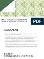 Zoologi Vertebrata Bab 3. Klasifikasi FIlogenetik