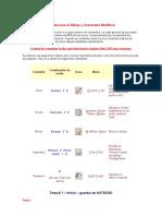 Ntroducción Al Dibujo y Comandos Modificar AUTOCAD
