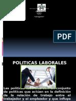 POLITICAS LABORALES
