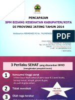 Pencapaian Spm Prov Jateng Th 2014