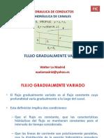 flujo gradualmente graduado
