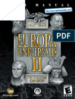Europa Universalis II - Manual - PC