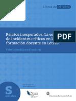 Incidente Crítico. Valeria Sardi