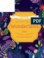 wonderland gala catalogue