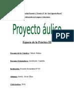 Proyecto PDOC III (Sotelo)