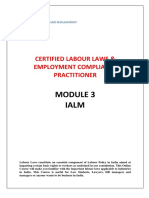 Labour Laws Module-3