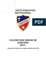 Proyecto Ed. Orione