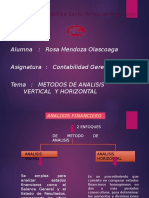 Analisis Vertical y Horizontal