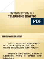 Introduction on Telephone Traffic
