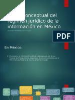 Régimen Jurídico de La Información