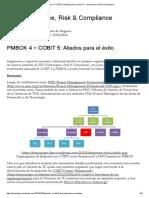 PMBOK 4 + COBIT 5_ Aliados para el éxito _ IT - Governance, Risk & Compliance