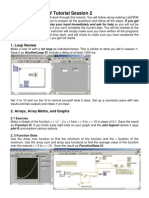 LabVIEW Tutorial Session 2