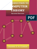 Introduction To Computer Theory Cohen Pdf