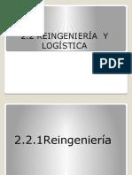 2.2 Reingenieria y Logistica