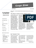May10 Cougar Newsletter