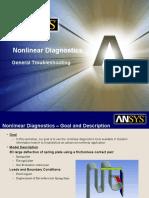 Nonlinear Diagnostics