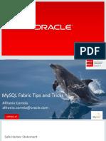 CON5209_Correia-CON5209 - MySQL Fabric Tips and Tricks - OOW 2015