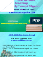 COMP 220 GENIUS Teaching Effectively /Comp220genius.com