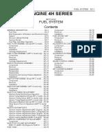 Engine Izusu 4h Shop Manual