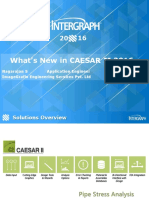 What is New in Caesar II 2016
