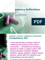 competency reflections saenz judith new