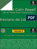 Liderazgo - Gral. Collin Powell