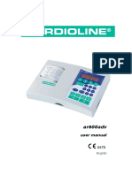 Cardioline Ar600adv - User Manual