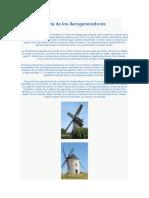 Historia de Los Aerogeneradores