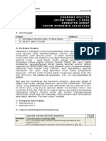 Silabus Ekonomi Politik-smt Genap 14-15