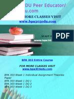 BPA 303 EDU Peer Educator/ bpa303edu.com