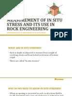 Insitu Stress