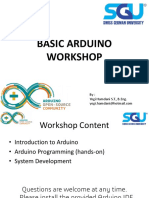 Basic Arduino Workshop