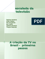 A Escalada Da Tv