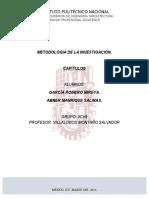 Resolucion de Capítulos de Metodología de La Investigación