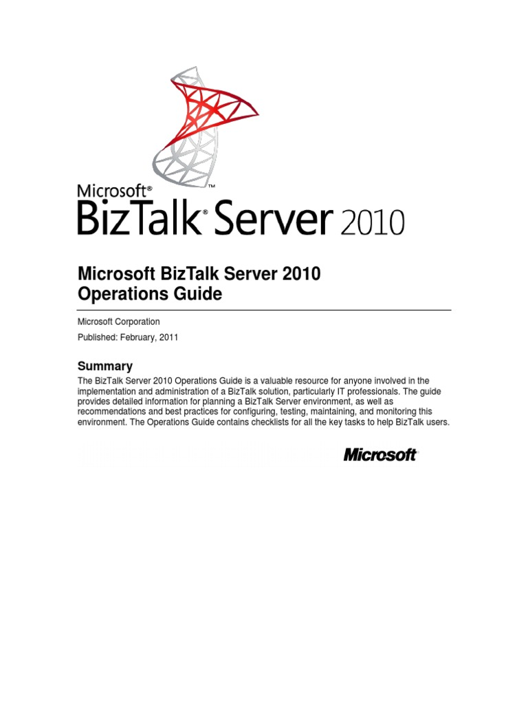 Biztalkserver2010 Operationsguide 1 Microsoft Sql Server Proxy Binary Demo Circuit Diagram Tradeoficcom