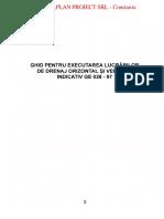 GE 028 - 1997 - Executarea Lucr de Drenaj Orizontal Si Vertical