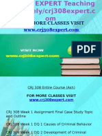 CRJ 308 EXPERT Teaching Effectively/ Crj308expert.com