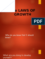 The Laws of GROWTH (Complete)